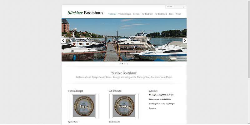 Sürther Bootshaus Köln